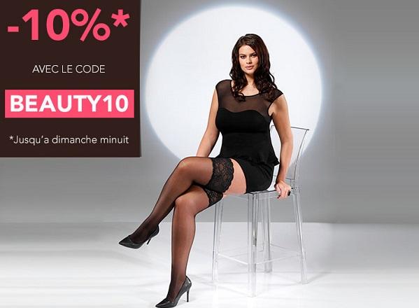 Promotion sur les collants grande taille de COLLANT.FR