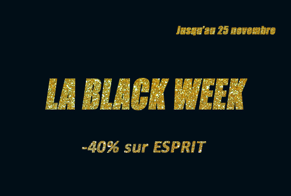 Black Week ou semaine exceptionnelle de promo !