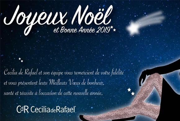 Bonne année 2019 de la part de Cecilia de Rafael