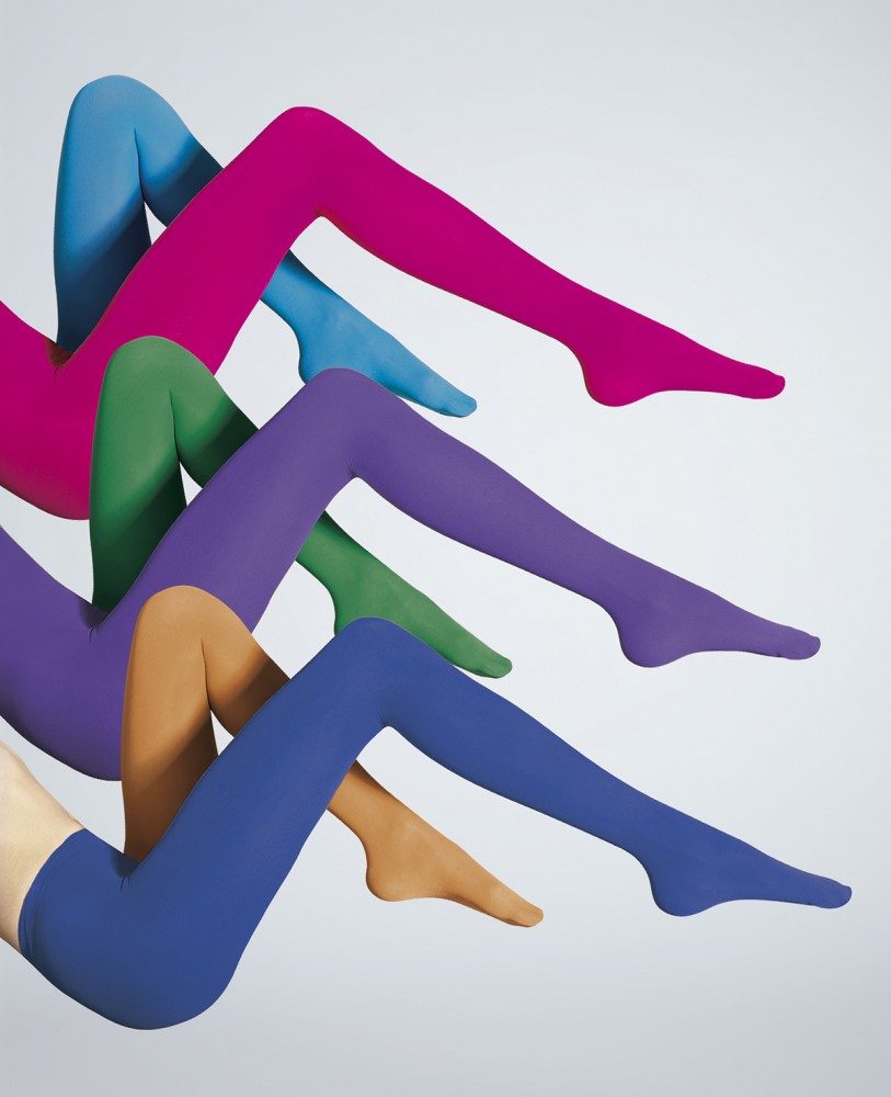 Collant coloré opaque